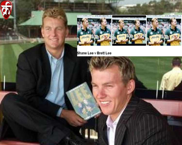 Brett Lee and Shane Lee